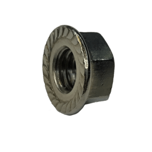 "3/8"" Stainless Steel Flange Nut"